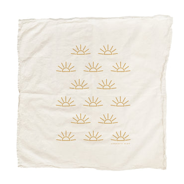 Confetti Riot - Sunrise Tea Towel