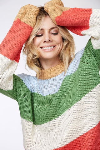 Reese Stripe Sweater