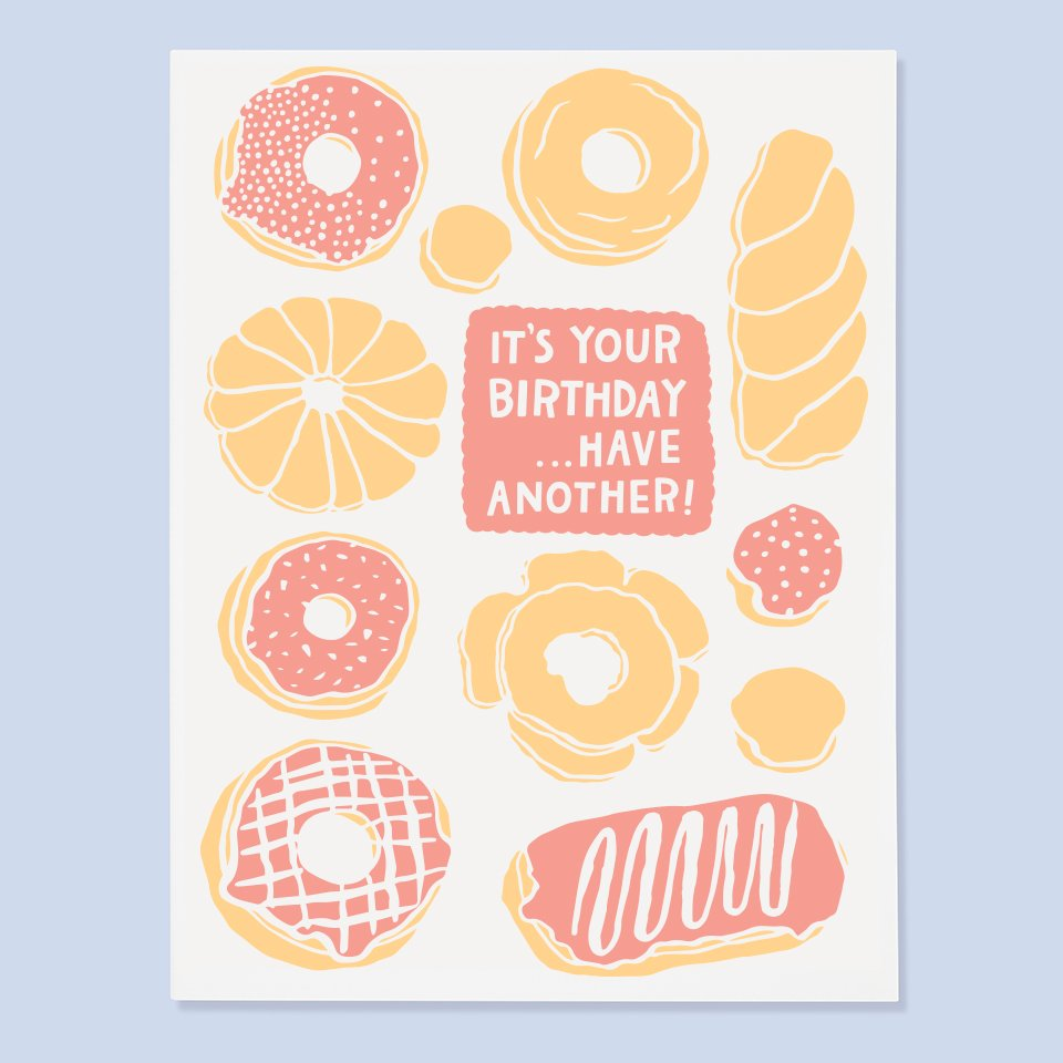 The Good Twin - Donut Birthday Card