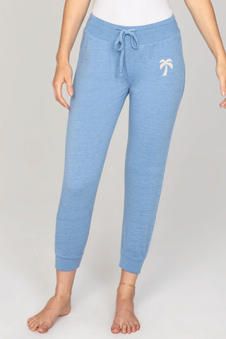 Weekend meditation pants Blue