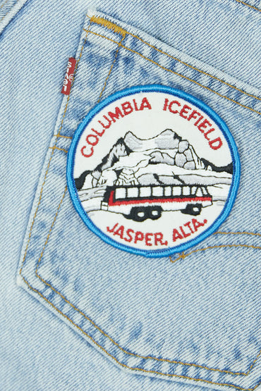 Vintage Columbia Icefield Patch
