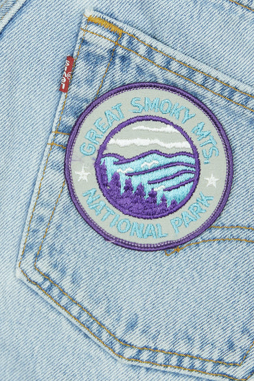 Vintage Smokey Mountains Patch
