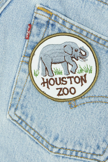 Vintage Houston Zoo Patch