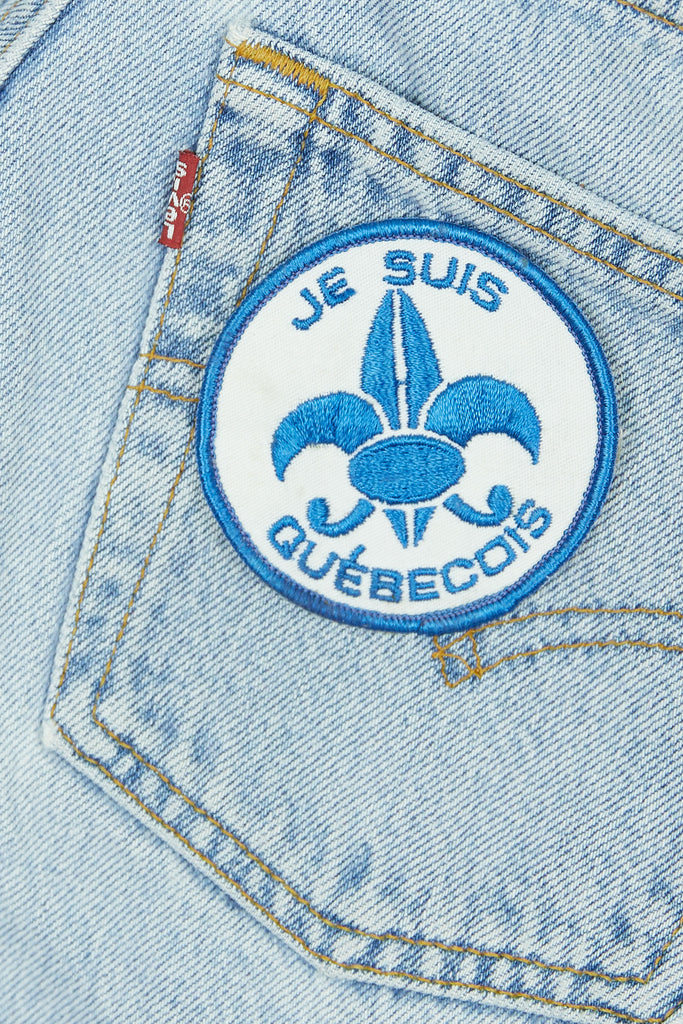 Vintage Je Suis Patch