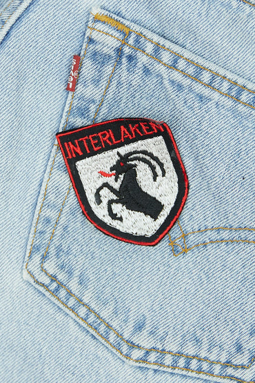 Vintage Interlaken Patch