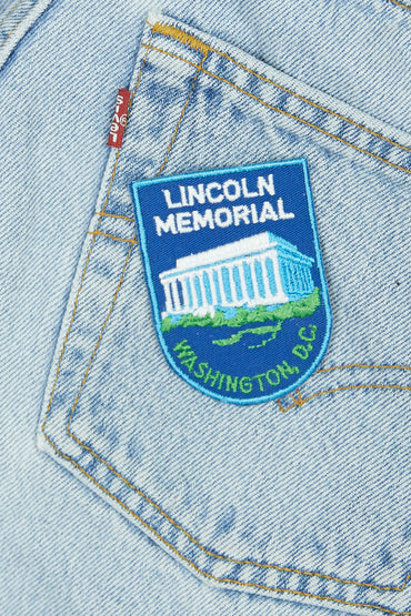 Vintage Lincoln Memorial Patch