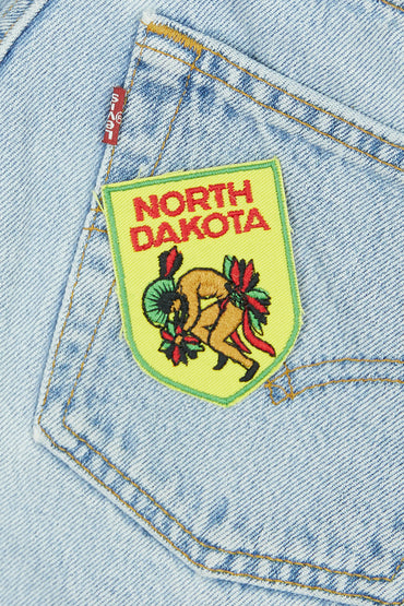 Vintage North Dakota Patch