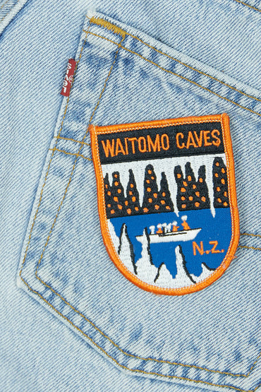 Vintage Waitomo Patch