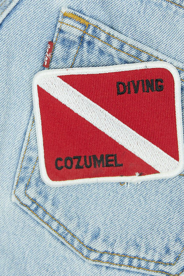 Vintage Cozumel Patch