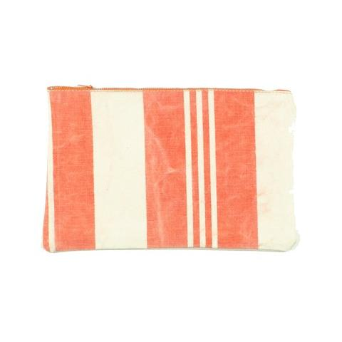 Vintage Stripe Clutch 4