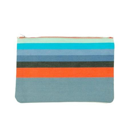 Vintage Stripe Clutch 5