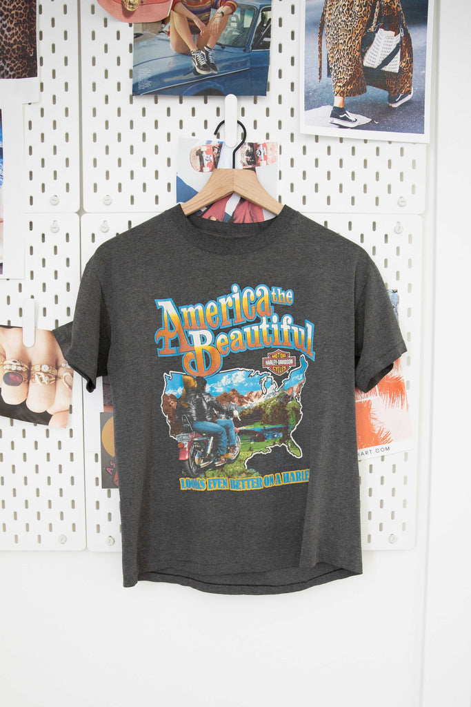 Vintage America The Beautiful Biker Tee