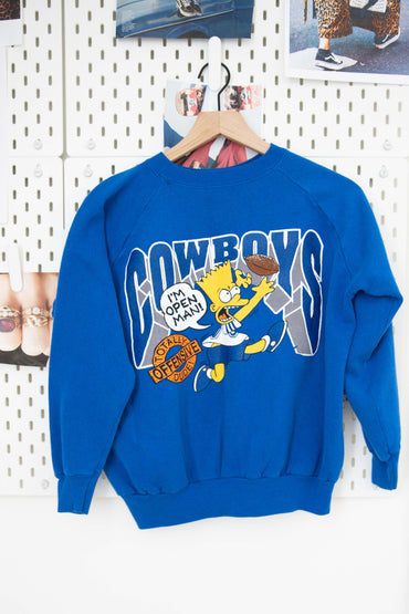 Vintage Dallas Cowboys / Simpsons Pullover
