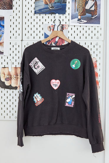 Vintage Patch Pullover