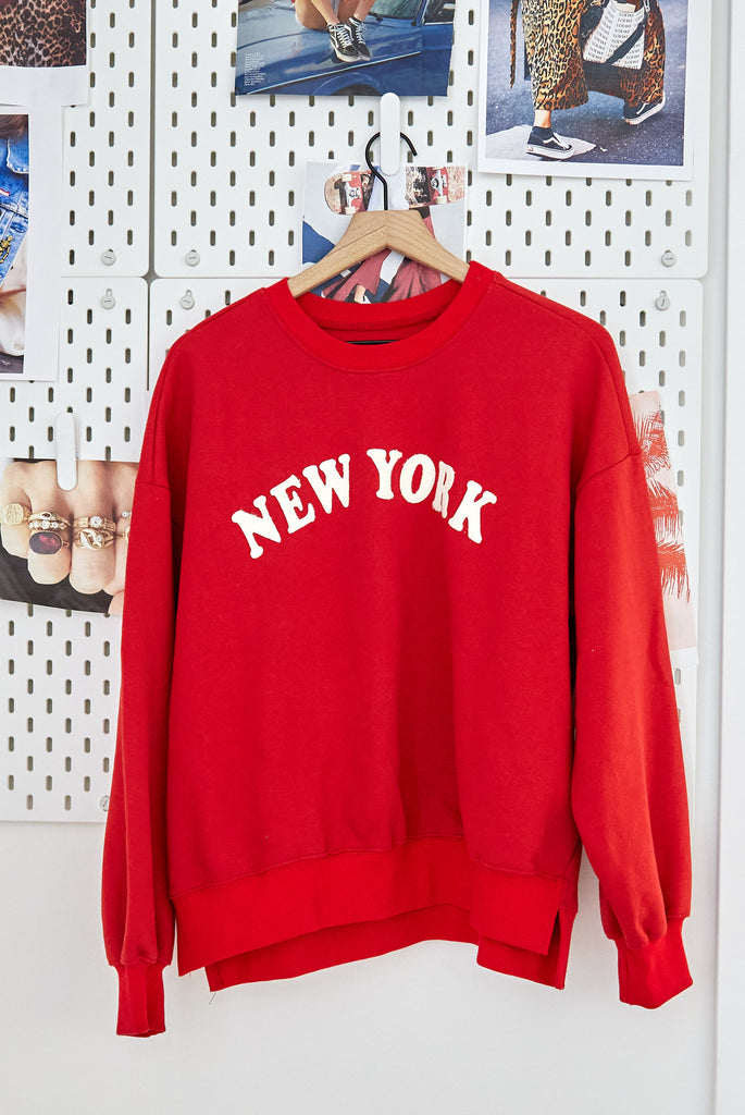 Vintage New York Pullover