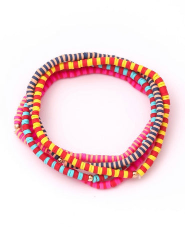 Multi Color Bracelet Set