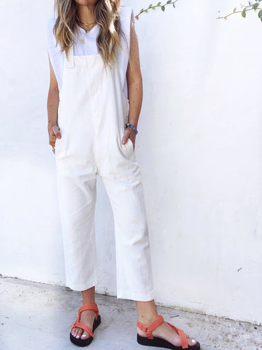 Lucy Overall - White