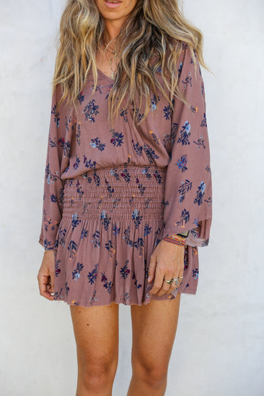 Mocha Mini Dress/romper