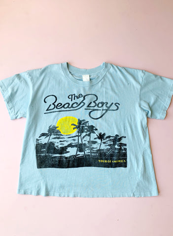 MadeWorn - The Beach Boys Tour Crop Tee