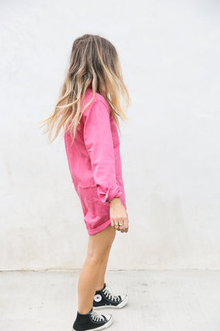 POP PINK PROPHECY JUMPSUIT