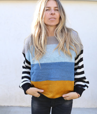 Ainsley stripe sweater
