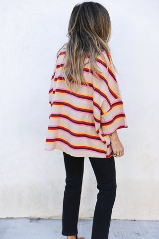 Wyatt Stripe Top