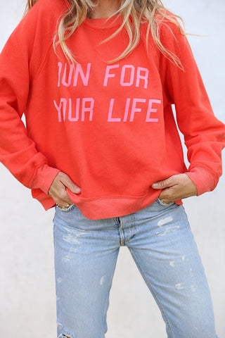 Run For Your Life Pullover