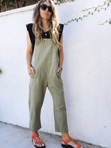 Lucy Overall - Olive