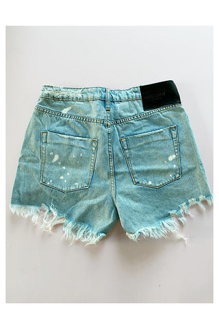 Kansas Blue Truckers Relaxed Shorts