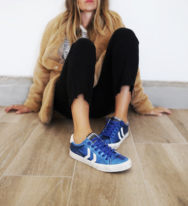 Electric Blue Sneaks