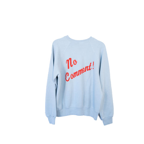 Vintage No Comment Pullover