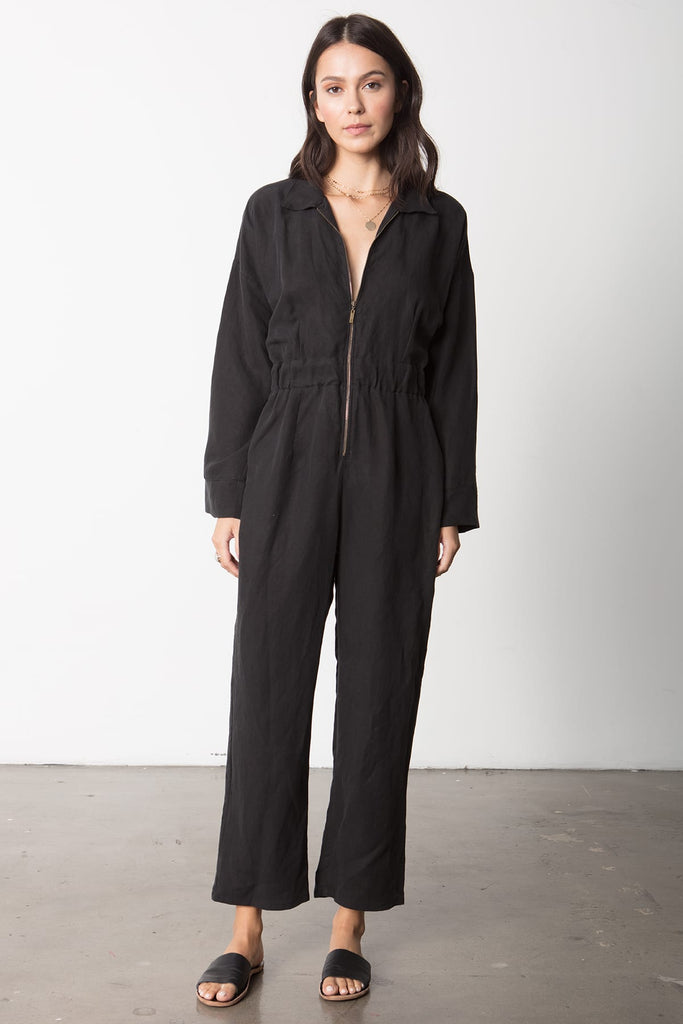 The Parker Jumpsuit Black