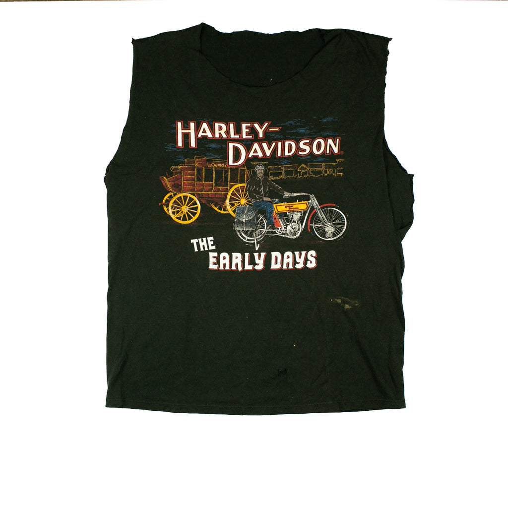Vintage HD Early Days Tank