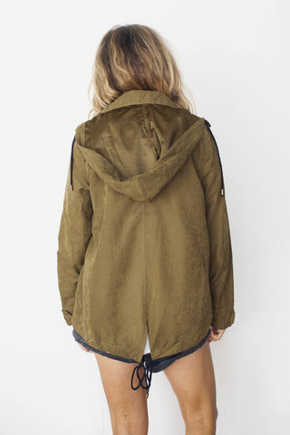 Alexa hooded jacket