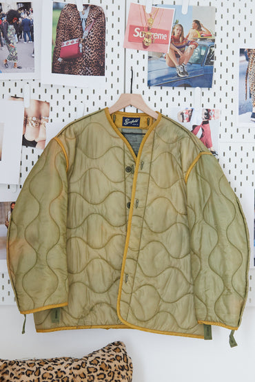 One Of A Kind Vintage Military Jacket #011
