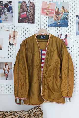 One Of A Kind Vintage Military Jacket #012