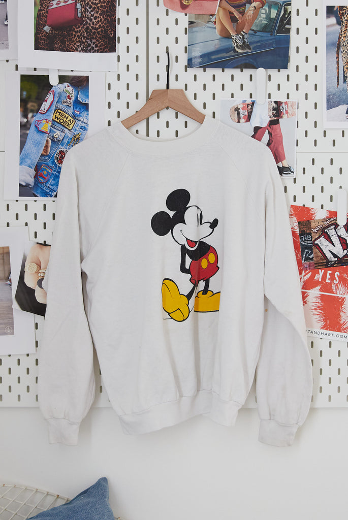 Vintage Mickey Pullover M Ascot Hart