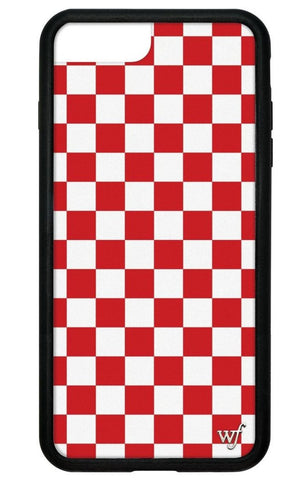 Red Checkers iPhone 6/7/8 Plus Case