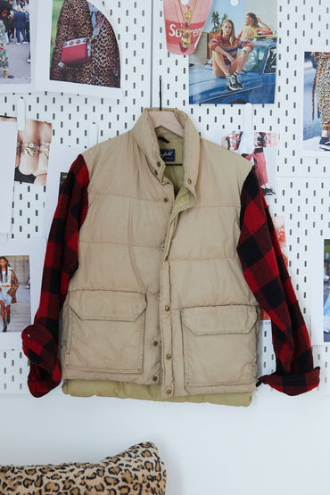 One Of A Kind Vintage Military Jacket #015
