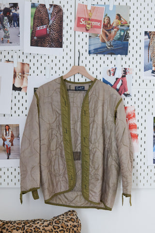 One Of A Kind Vintage Military Jacket #018