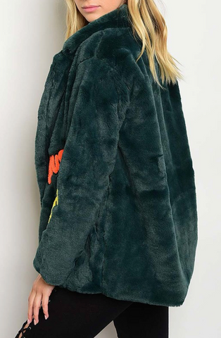 Emerald Patch Coat