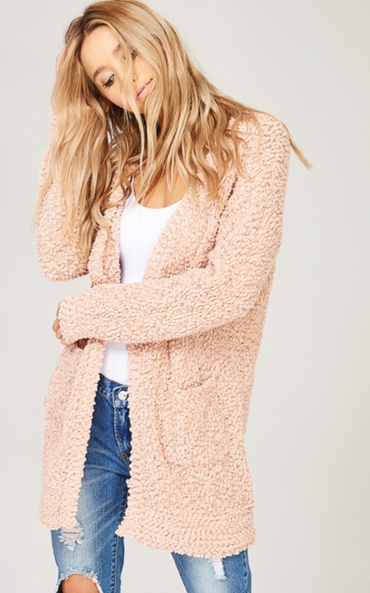 Fairview Cardigan Blush