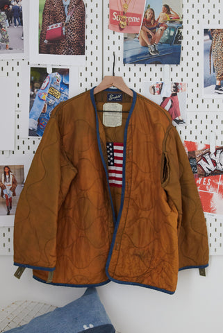 One Of A Kind Vintage Military Jacket #7