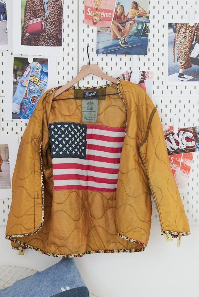 One Of A Kind Vintage Military Jacket #8