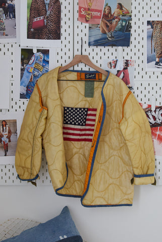 One Of A Kind Vintage Military Jacket #2