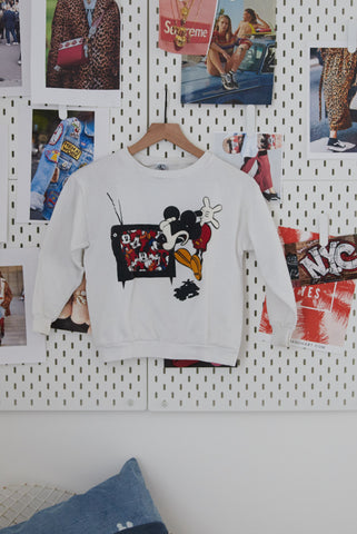 Vintage Kids Mickey Pullover