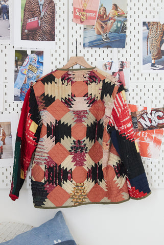 One Of A Kind Vintage Quilted Jacket