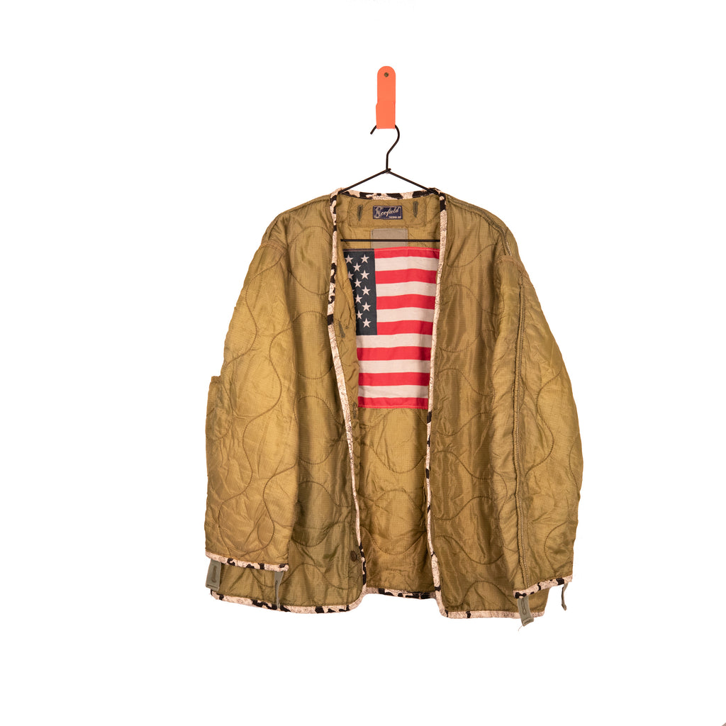 One Of A Kind Vintage Military Jacket #9