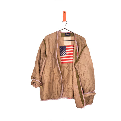 One Of A Kind Vintage Military Jacket #10