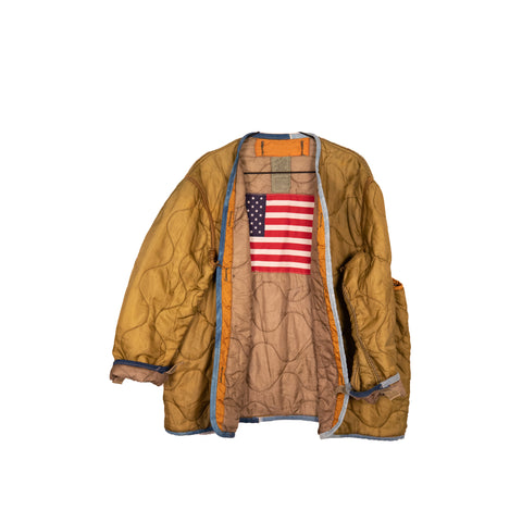 One Of A Kind Vintage Military Jacket #11